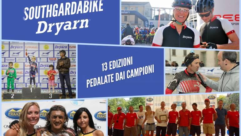 SOUTHGARDABIKE Dryarn® – 13 edizioni di successi, pedalate da grandi campioni
